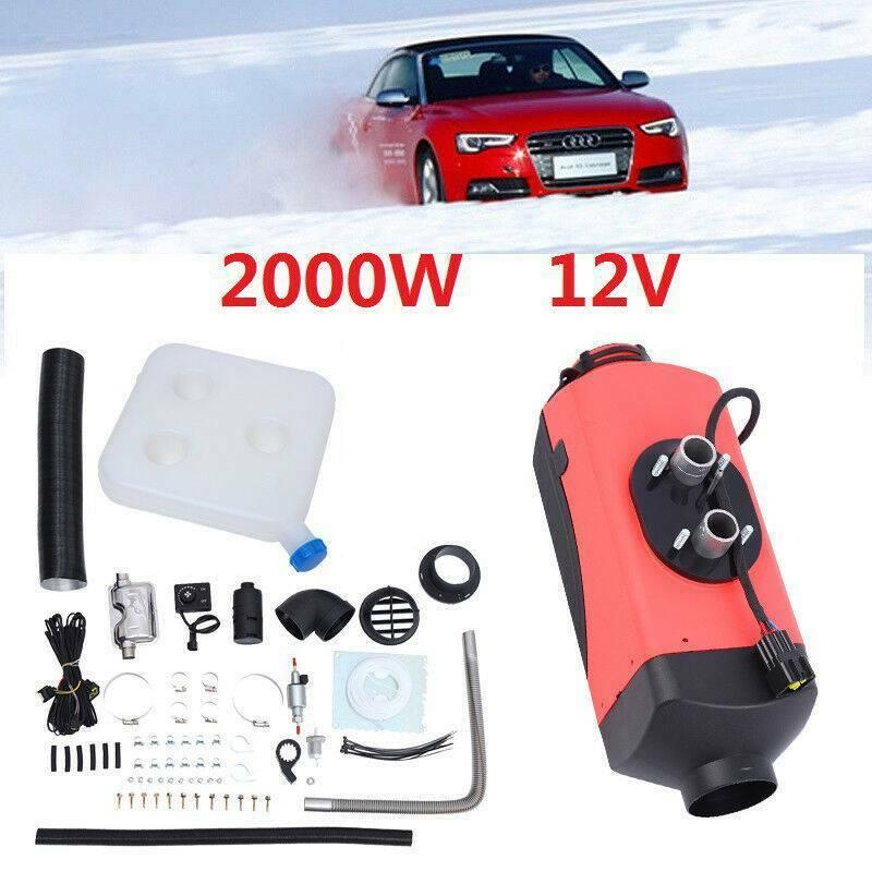 (Navire de AU) 12V 2KW voiture Diesels Air Parking chauffage interrupteur rotatif remorque chauffage pour voiture Bus camions camping cars bateaux
