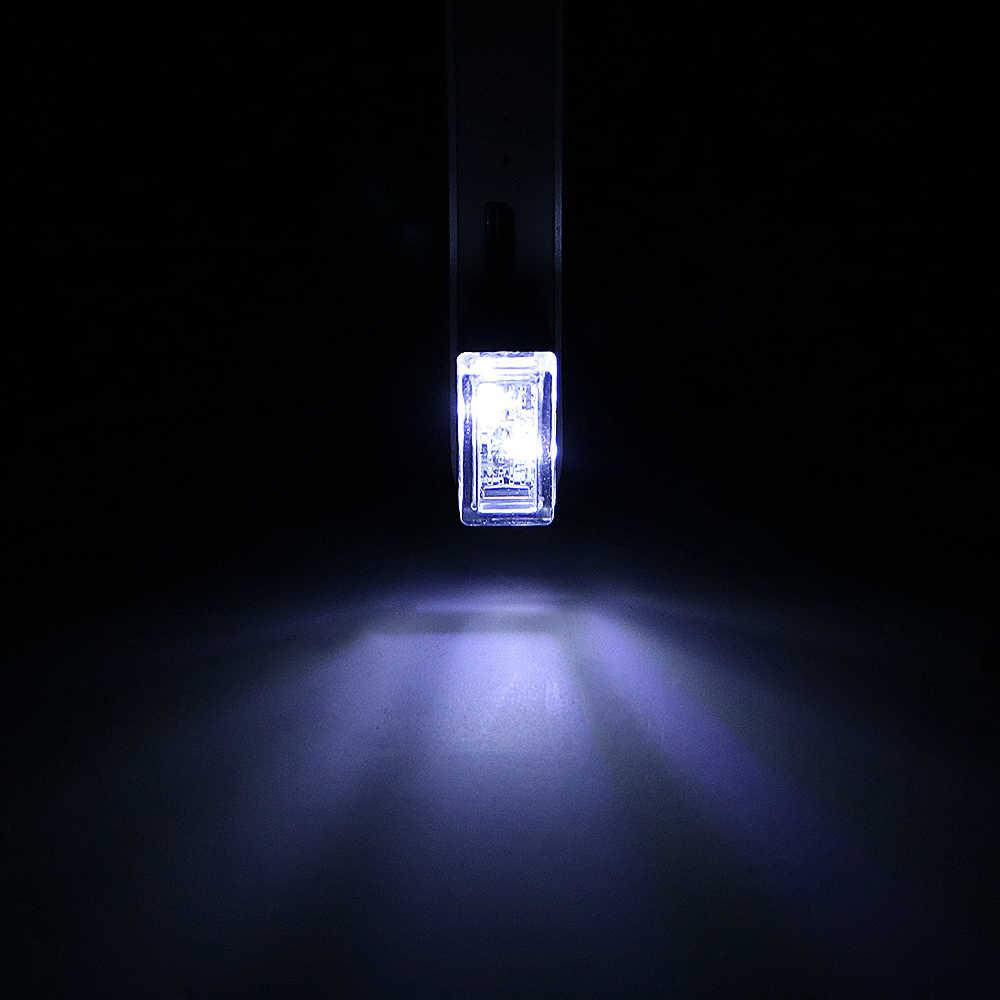 車 5V USB LED 雰囲気ライト装飾ランプ緊急経路照明 PC ポータブルレッド/ブルー/ホワイトアウディユニバーサル車