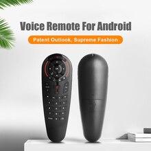 KEBIDU G30S Stimme Luft Maus 2,4G Fernbedienung 33 Schlüssel IR Lernen Gyro Sensing Wireless Smart Remote Für Android TV Box PC