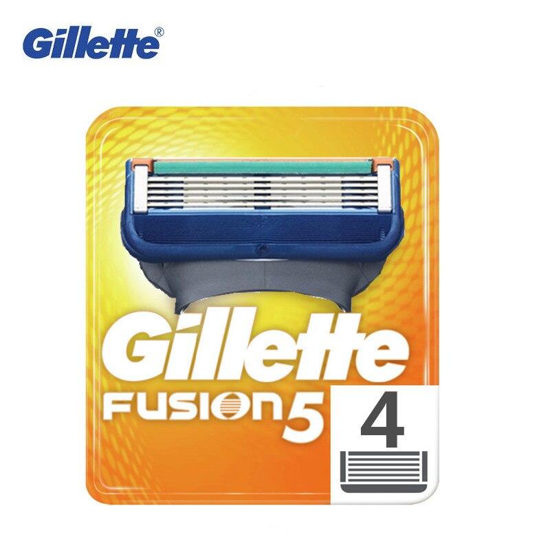 Gillette Fusion 5 Blade For Men Shaving Replaceable Cassettes Shaving Fusion Shaving Cartridge Fusion 4 Blade Refills
