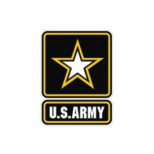 Car Sticker Personality Creative US Army Military United States Forces Window Styling Sunscreen Anti-UV PVC Decal,12cm*9cm united states military armed forces full size ribbon us merchant marine expeditionary