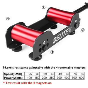 Image 5 - Bicycle Roller Exercise Home Trainer Resistance Stationary Roller Bike Training MTB Road Portable Folding Workout Cycling Roller