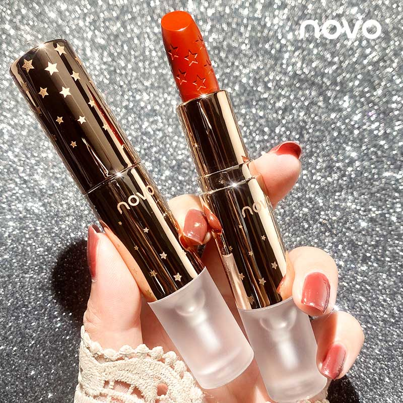 Transparent Film Fomation Velvet Matte Foggy Lipstick & Fixation Raincoat Lock Lipstick Color Lasting Charming Sexy Lips Makeup