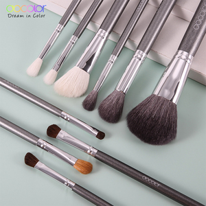Image 2 - Set di pennelli per trucco Docolor professionale con fondotinta per capelli in polvere naturale ombretto pennello per trucco fard 10 pezzi 29 pezzi