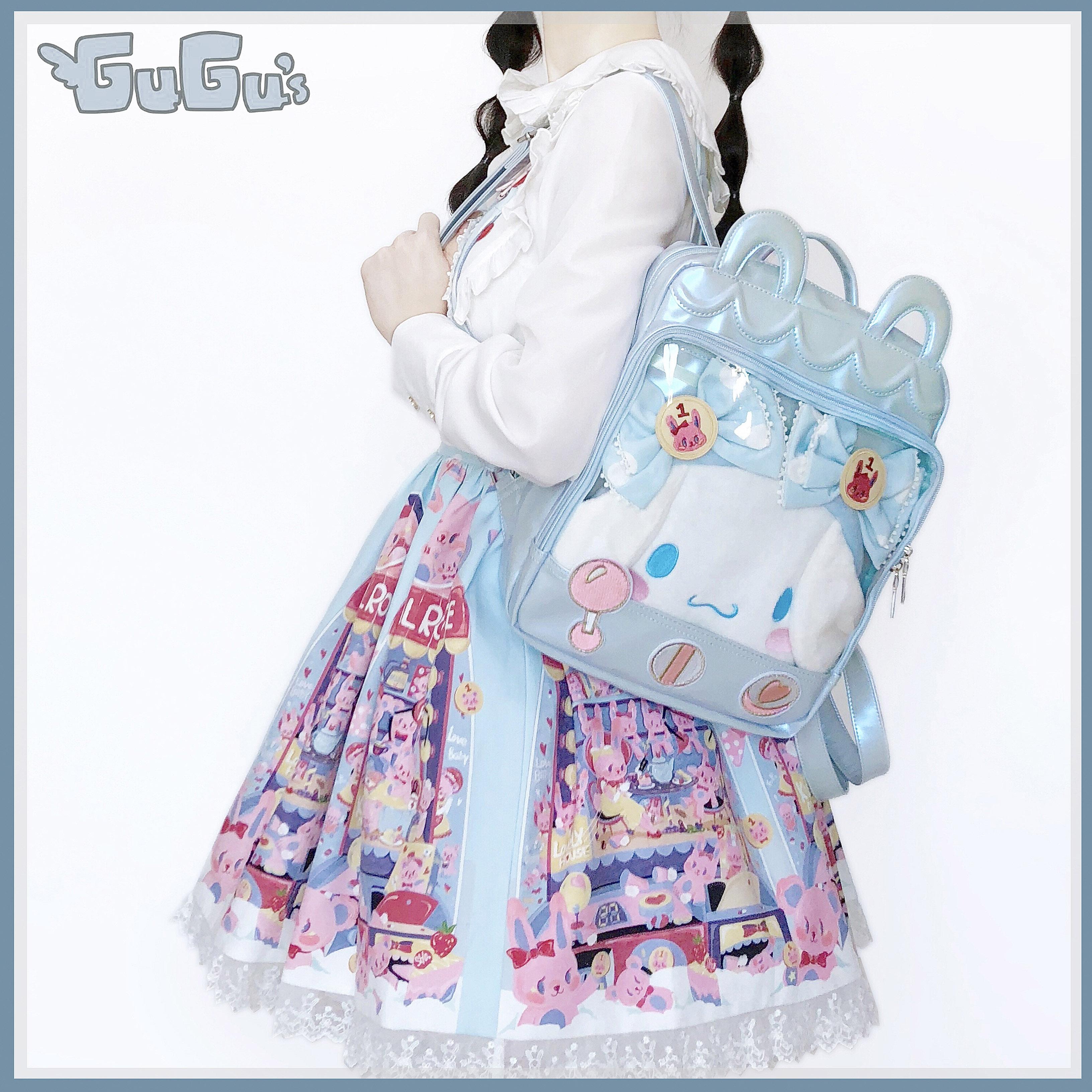 Рюкзак из искусственной кожи Itabag для девочек, мягкий рюкзак в стиле харадзюку для сестер и студентов, сумка на плечо