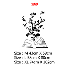 Fun The flowers in the book Home Decor Modern Acrylic Decoration For Kitchen Restaurant Sticker Mural fun in the sun