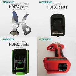 HISEED 22V elektryczny sekator ogrodowy nożyce akumulatorowe nożyce elektryczne nożyce do gałęzi elektryczne narzędzie do przycinania owoców