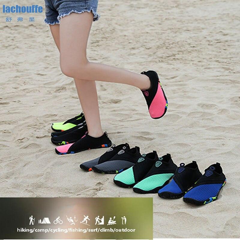 Aqua Shoes Men Water Beach Camping  Fishing Shoes Women Beathable Quick Dry Mens Water Shoe Outdoor Anti-slippers Beach Sneakers