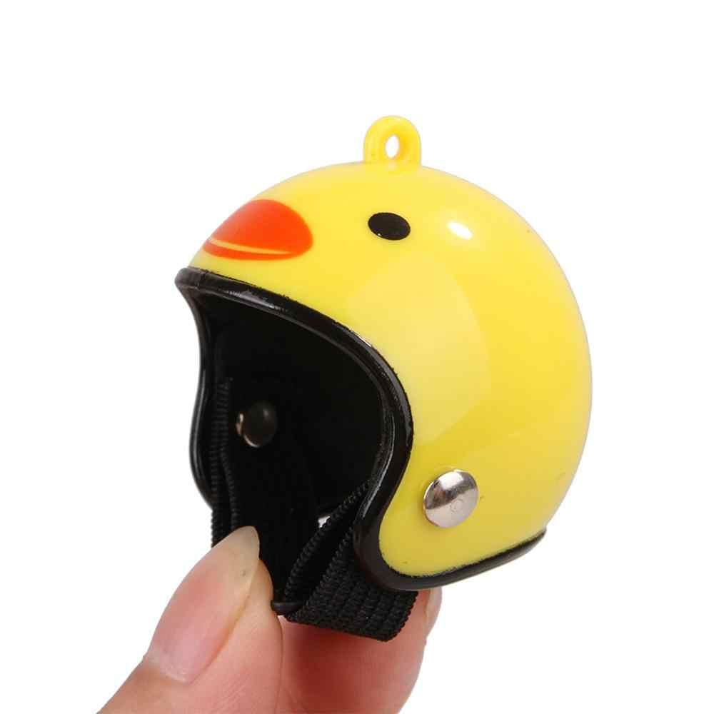 עוף קסדת קטן לחיות מחמד קשה כובע ציפור ברווז שליו כובע כיסויי ראש לחיות מחמד עוף קסדת ציפור ראש קסדת ציוד לחיות מחמד 1 pcs