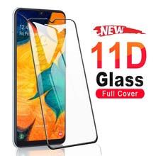 11D Vetro Temperato Per Samsung Galaxy A01 A11 A21 A31 A41 A51 A71 Protezione Dello Schermo Glas M11 M21 M31 M51 a30 A50 Vetro di Protezione