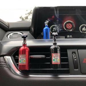 Image 2 - 1PCS Car Air Freshener NOS Vent Outlet คลิปน้ำหอมน้ำหอมเติมน้ำมันหอมระเหย Auto กระจายกลิ่นแปลกๆ