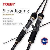 NOEBY Nonsuch Angelrute Spinning Casting Langsam Jigging Stange 1,83 m 1,96 m 2 Abschnitt Fuji Reel Sitz Führen M ML Power Angelgerät
