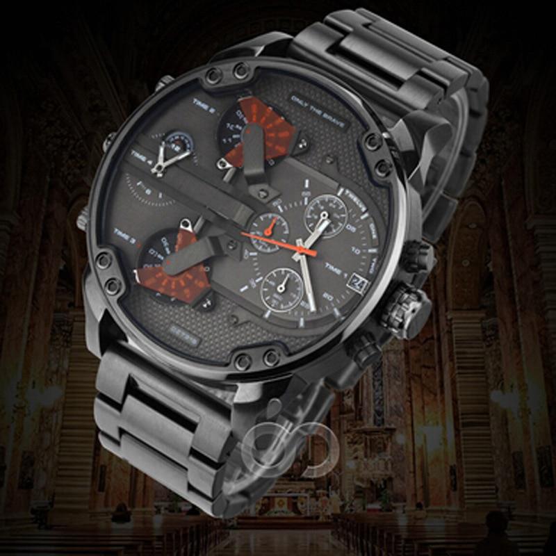 Men Watch Top Brand Men's Watch Fashion Watches Relogio Masculino Military Quartz Wrist Watches Hot Clock Male Sports