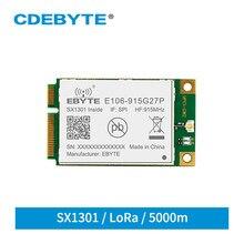 E106-915G27P cdebyte sx1301 915mhz lorawan porta caminho módulo 5km de longa distância spi interface sem fio transceptor módulo