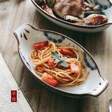 1 uds, vajilla familiar japonesa ANTOWALL, platos para restaurante simples, platos para cena al por mayor, platos para servir arroz