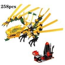 2019 new Toys for children Bela Self-locking Bricks Compatible Ninjagoed The Golden Dragon 70503 Building Block Set