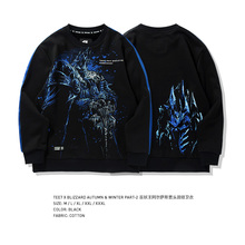 Tee7 WOW hoodie Alsace the lich king fashion trend casual cotton round neck pullover