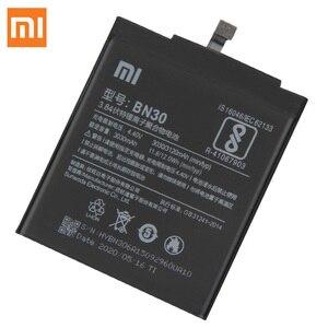 Image 5 - Xiao Mi orijinal yedek pil BN30 Xiaomi Mi Redrice Hongmi 4A otantik telefon pil 3120mAh