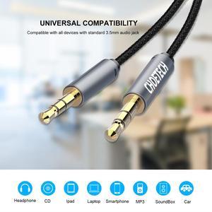 CHOETECH Jack 3,5 аудио кабель 3,5 мм акустическая линия Aux кабель для iPhone 6s Samsung s7 s8 автомобильные наушники Xiaomi Samsung аудио разъем