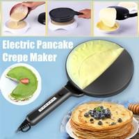 TTLIFE Electric Crepe Maker Pizza Pancake Machine Non Stick Griddle Baking Pie Frying Pan Cake Machine Kitchen Cooking Tools