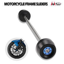 For BMW S1000RR 10-19 S1000R 14-19 F800R 09-15 Motorcycle Front&Rear Axle Fork Crash Sliders Wheel Protector Falling Protection