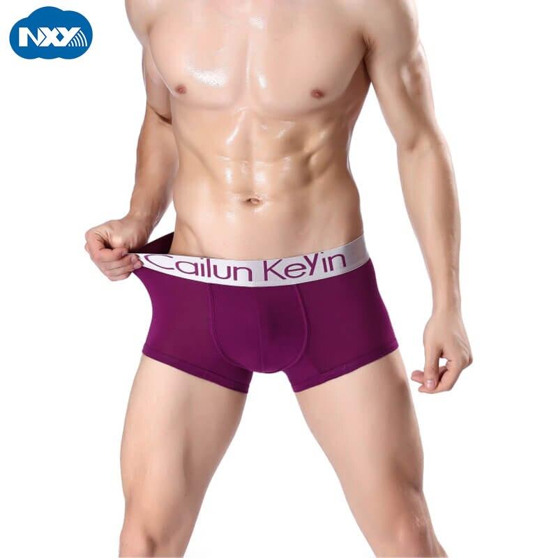 Boxer Men Underwear Seamless Comfort Modal NXY Man Knickers Calzoncillo Hombre