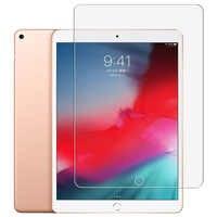 9H verre trempé pour iPad 10.2 pouces 2019 2.5D couverture complète protecteur d'écran pour iPad Pro 11 Air 2 3 MiNi 5 4 3 2 2017 2018 verre