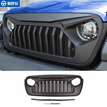 MOPAI Racing Grille for Jeep Wrangler JL 2018+ Car Front Grilles Cover Decoration for Jeep Wrangler JL Car Accessories Styling - DISCOUNT ITEM  13% OFF All Category