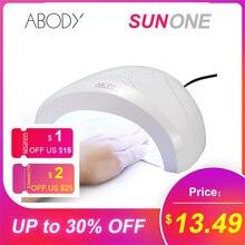 SUNone lampe sèche ongles Gel UV 24/48W, LED lampes à glace pour manucure, pour tout le Nail Art
