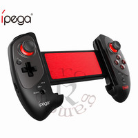 Original iPEGA PG 9083S Red Bat Bluetooth Gamepad Bluetooth 4.0 Sleek Touch 360 Degree rotation for iOS / Android / PC / WIN