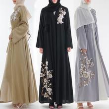 2019 Abaya Dubai Muslim Dress Kaftan Kimono Bangladesh Robe Musulmane Islamic Clothing Caftan Marocain Turkish UAE Eid