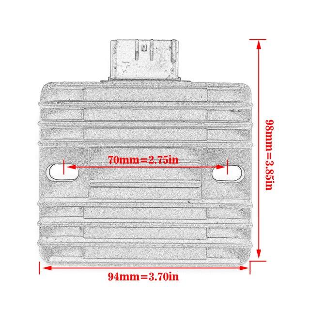 Регулятор напряжения мотоцикла выпрямитель для honda trx500fa