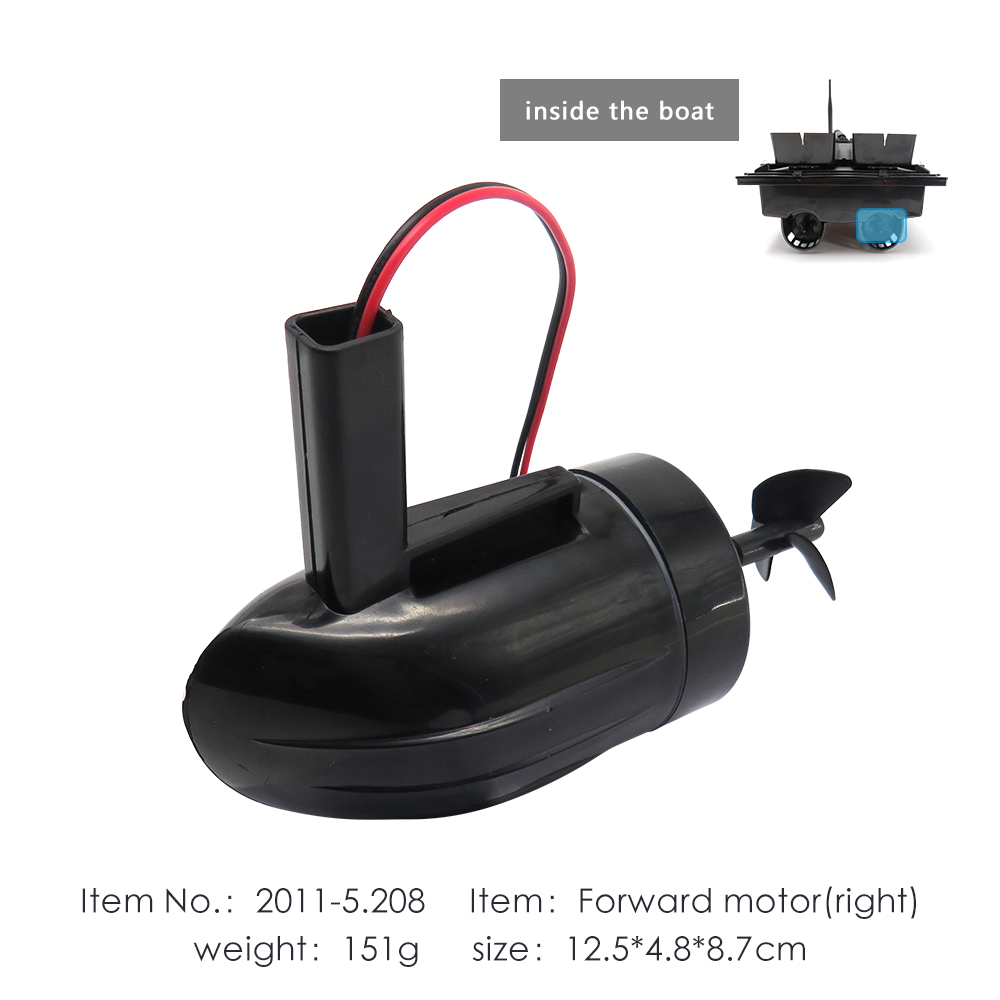 Flytec 2011 5 Fishing RC Boat Forward Motor Right Side For Upgraded 2011 5 Bait Boat AccessoriesParts & Accessories   -