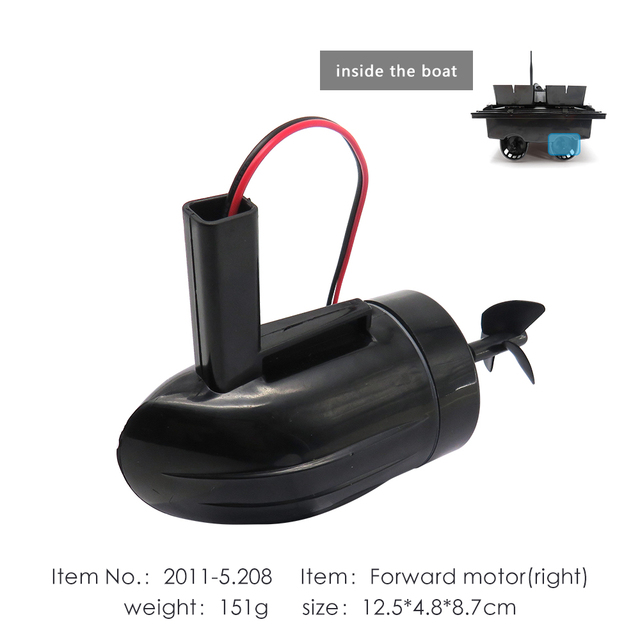 Flytec 2011 5 Fishing RC Boat Forward Motor Right Side For Upgraded 2011 5 Bait Boat Accessories