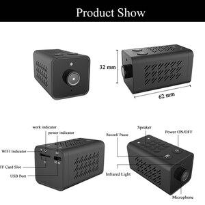 Image 5 - Мини ip камера Tuya, 1080P, Wi Fi, Onvif, TF