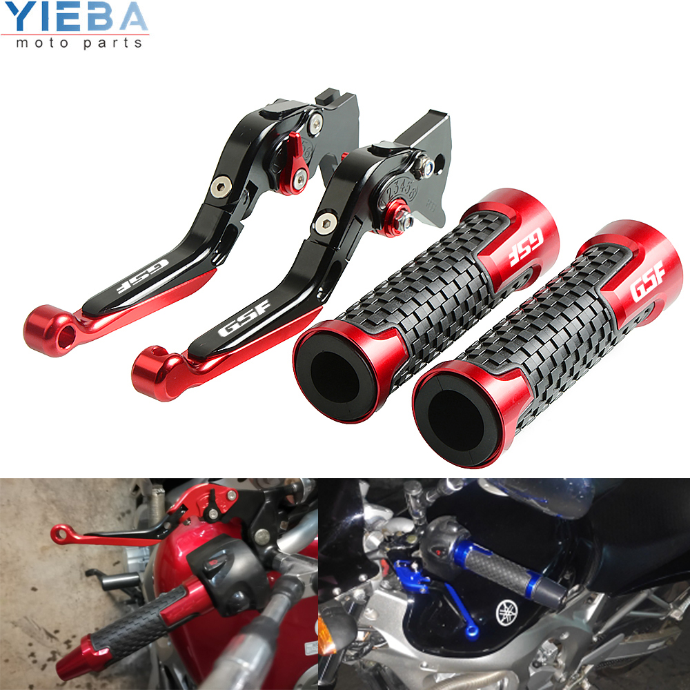 Motorcycle brakes Extendable Foldable Clutch Levers Handle Bar For SUZUKI GSF650 <font><b>GSF</b></font> <font><b>650</b></font> BANDIT 2007-2015 2008 2009 2010 2011 12 image