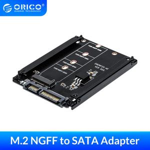 ORICO M.2 NGFF to 2.5 Inch SATA 22PIN Adapter for 2230/2242/2260/2280mm M2 NGFF SSD Solid State Hard Drive M2 NGFF to SATA 22PIN