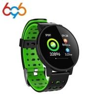 696 T3 سوار الرياضة الذكية جهاز تعقب للياقة البدنية معدل ضربات القلب ضغط الدم رصد عداد الخطى IP67 مقاوم للماء الرجال النساء Smartwatch على