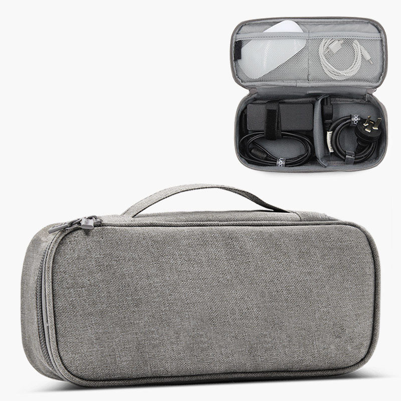Portable Cable Organizer Bag For Electronics Travel Digital Gadgets Case Headphones Charger Wires Storage Pouch Accessories Item