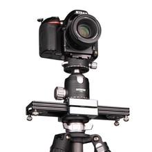 "Kolivar スライダー 9 ""/23 センチメートルミニ調整可能な減衰カメラトラックレールド一眼レフカメラ用スマートフォン DV 移動プロビデオ映画"
