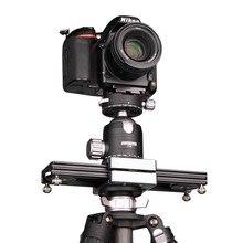 "Kolivar Slider 9""/23cm Mini Adjustable Damping Camera Track Rail Dolly Slider For DSLR Camera Smart Phone DV Gopro Video Movie"