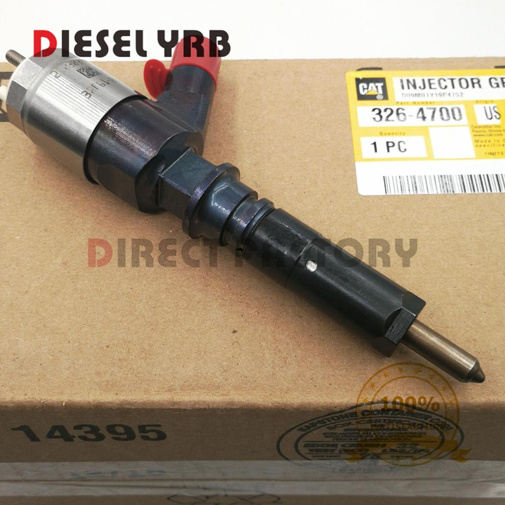 GENUINE AND BRAND NEW 3264700 DIESEL FUEL INJECTOR 326 4700 FOR 320D EXCAVATOR ENGINE in Fuel Inject Controls Parts from Automobiles Motorcycles