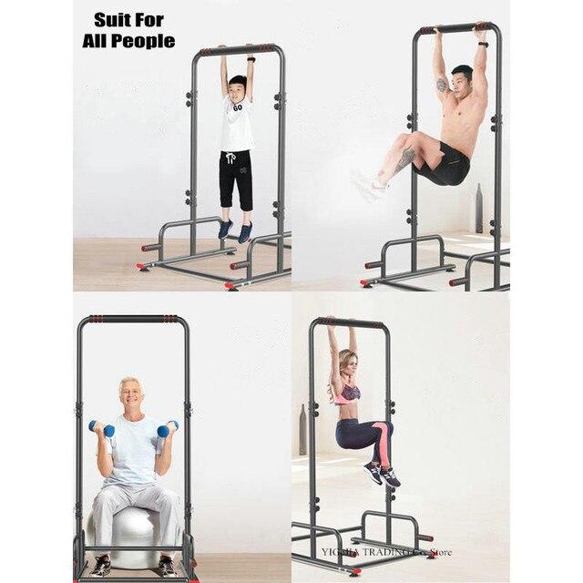 Station dentraînement multifonctionnelle réglable de support déquipement de musculation de forme physique de gymnase à la maison, 5 catégorie ajustent la traction