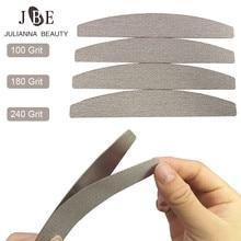 100 adet gri çıkarılabilir pedleri ile 1 adet nasır sökücü manikür paslanmaz çelik saplar yedek zımpara pedleri tırnak törpüsü