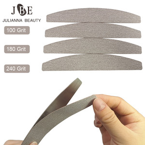 Image 1 - 100PCS גריי Removalble רפידות עם 1PC יבלות מסיר מניקור נירוסטה ידית החלפת נייר זכוכית רפידות פצירה