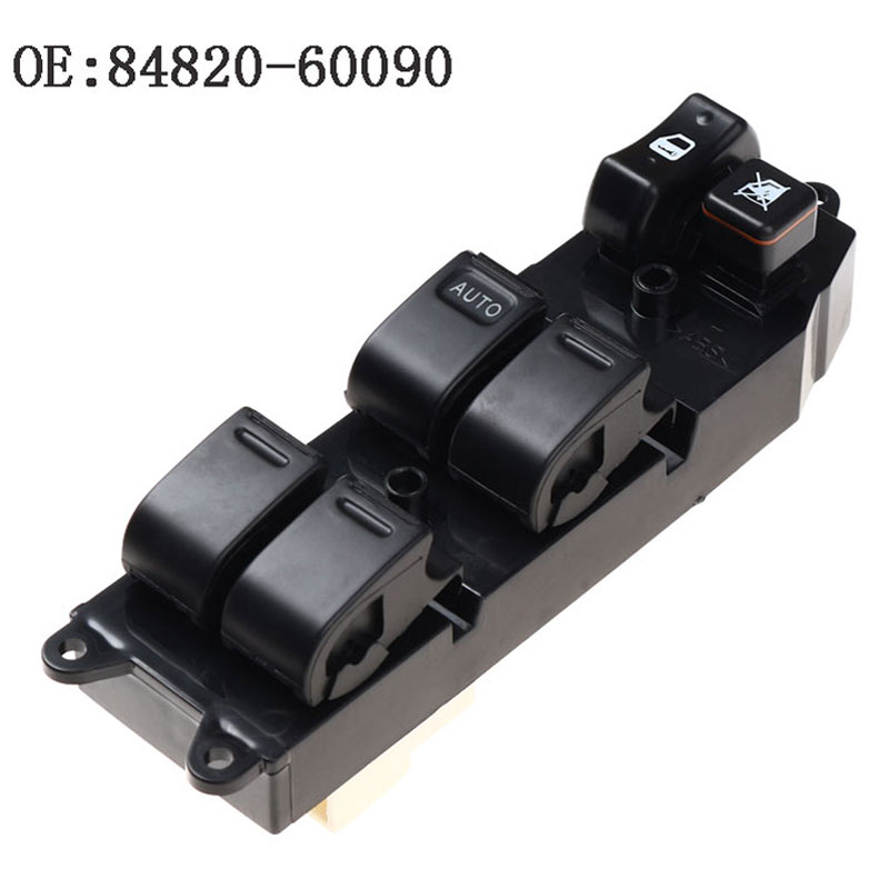 YAOPEI Power Window Master Control Switch 84820-60090 8482060090 For <font><b>Toyota</b></font> Echo Yaris Camry Picnic <font><b>4Runner</b></font> Hilux TUV image