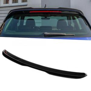 Gloss Black Maxton Style Carbon Fiber Style Rear Roof Spoiler For Volkswagen Golf 7/7.5 GTI R 2013-2020