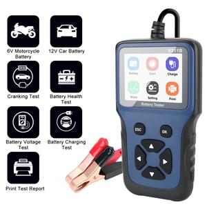 Image 1 - Analizador de cargador de batería de coche, 12V, V311B, herramientas de diagnóstico automático automotriz, Carga de coche, prueba de carga Cricut