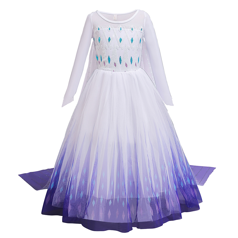 2021 Dress For Girl Birthday Party Cosplay Costume Fancy Children Dress Up Vestido Girls Clothes 3
