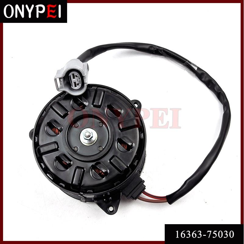 16363-75030 168000-4810 Electric fan Motor For Toyota Hiace Commuter 1680004810 1636375030 16363 75030